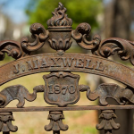 Gate to Greenwood Cemetery