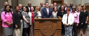 TCRTFgroupphoto-300x123 Tuscaloosa Civil Rights History Task Force with Tuscaloosa Council members and Mayor Walt Maddox