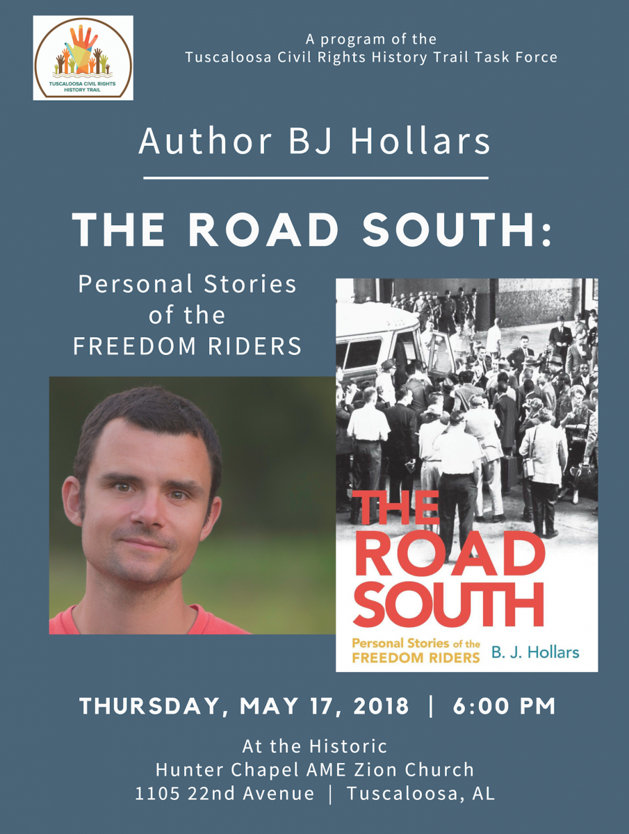 BJ-HOLLARS_-The-Road-South-1 Author BJ Hollars to talk at Hunter Chapel Events  Hunter Chapel BJ Hollars