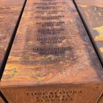 Tuscaloosa County Lynchings at National Memorial for Peace and Justice, Montgomery, AL