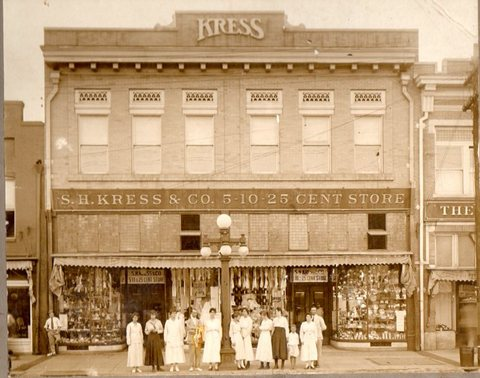 S_H_Kress_Building Tuscaloosa Civil Rights History Trail