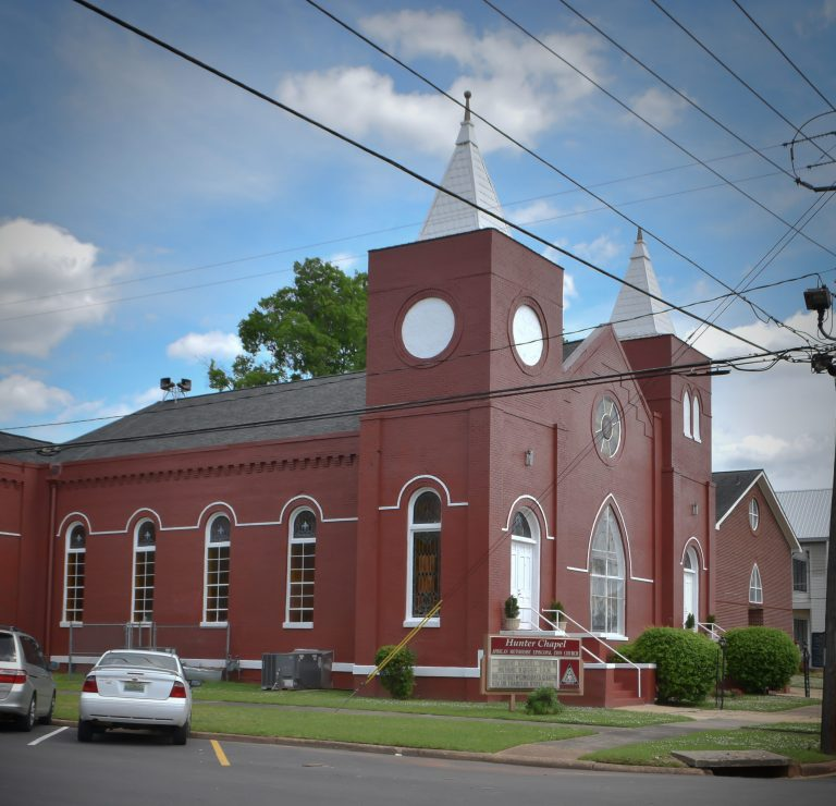 1.Hunter_Chapel_AME_Zion_Church.attr_.Rev_._Robert_E._Davis_photographer-scaled-1-768x740 Tuscaloosa Civil Rights History Trail