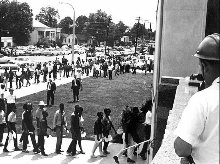 1964MarchtoCourthouse-768x573 Tuscaloosa Civil Rights History Trail